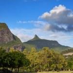 Mauritius, landscape of the island — Stock Photo
