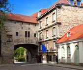 Cidade velha em tallinn, estónia. gat de mar grande — Fotografia Stock