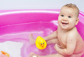 Baby bath — Stock Photo