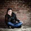 Sad teenage girl — Stock Photo