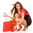 Shopping woman — Stock Photo #1780232
