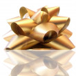 Gold bow — Stock Photo #1785526