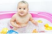 Baby bath — Stock Photo