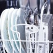 Dirty dishes — Stock Photo