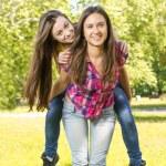 Happy teenage girl — Stock Photo