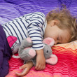 Little girl sleeping  — Stock Photo