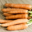 Bunch Of Fresh Carrots — Stock Photo #35484129