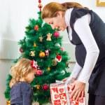 Family Christmas Moments — Stock Photo