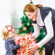 Family Christmas Moments — Stock Photo #40502391