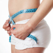 Medir cintura — Foto de Stock
