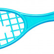Broken racket — Stock Photo