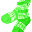 Green socks — Stock Photo