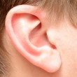 Human ear - Stock Photo