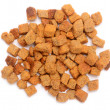 Stock Photo: Bread croutons