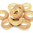 Dry bagels — Stock Photo