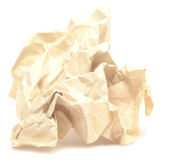 Old crumpled paper — Stockfoto