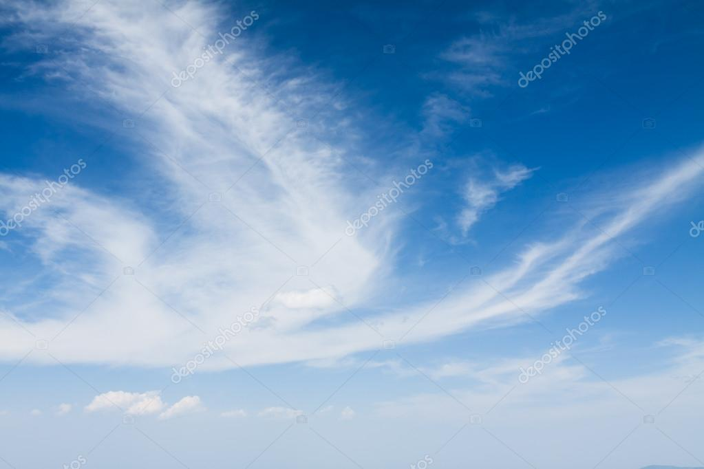 Blue sky and clouds  Stock Photo #12597729