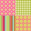 Scrapbook backgrounds — Stock Vector