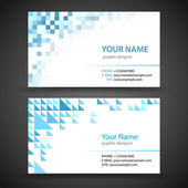 Business Card Set — Stock Vector