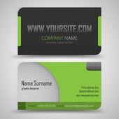 Conjunto de cartão de visita — Vetorial Stock