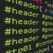 CSS and HTML code — Stock vektor #16969477