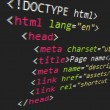 Royalty-Free Stock Imagen vectorial: CSS and HTML code