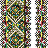 Ukrainian national ornament — Stock Vector