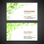 Business Card Set — Stock Vector
