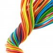 Bunch of wires — Stock Photo