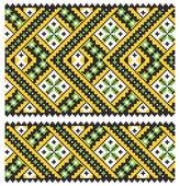 Ucrainian national ornament — Stock Vector