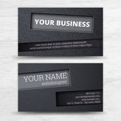 Business cards set. — Stock Vector