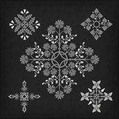 Set of vector ornaments. — Vettoriale Stock