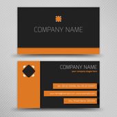 Abstract creative business cards — Stock Vector