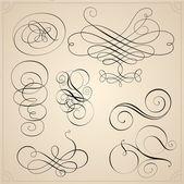 Kalligrafi element — Stockvektor