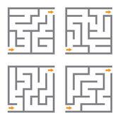 Vector maze  — Stock Vector