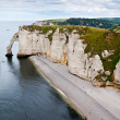 Royalty-Free Stock Photo: Cliffs of Etretat, Normandy, France