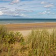 Omaha Beach, one of the D-Day beaches of Normandy, France — Stock Photo