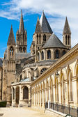 Abadia de saint etienne, caen, normandia, frança — Foto Stock