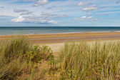 Omaha Beach, one of the D-Day beaches of Normandy, France — Stockfoto