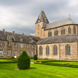 Abbey in Lonlay L — Stock Photo
