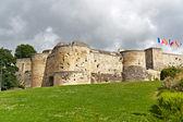 公爵的城堡在卡昂、 诺曼底、 法国 — 图库照片