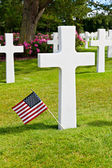American War Cemetery at Omaha Beach, Normandy (Colleville-sur-M — Foto de Stock