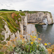 Cliffs of Etretat, Normandy, France — Stock Photo
