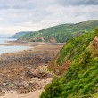 Landscape on atlantic coast in Normandy, France — Stock Photo