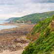 Stock Photo: Landscape on atlantic coast in Normandy, France