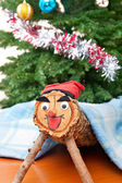Tio de Nadal, Christmas Tradition in Catalonia — Stock Photo