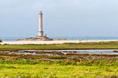 Lighthouse of Goury at Cap de la Hague , Normandy, France — Stock Photo