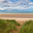 Omaha Beach, one of the D-Day beaches of Normandy, France — Stock Photo #14714445