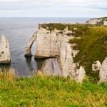 Cliffs of Etretat, Normandy, France — Stock Photo #15324231