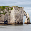 Cliffs of Etretat, Normandy, France — Stock Photo #15719561